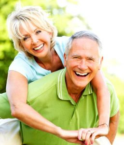 adipose fat tissue older couple smiling