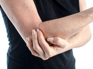 elbow area