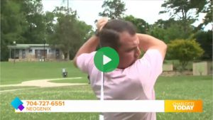 low back hip pain video testimonial play